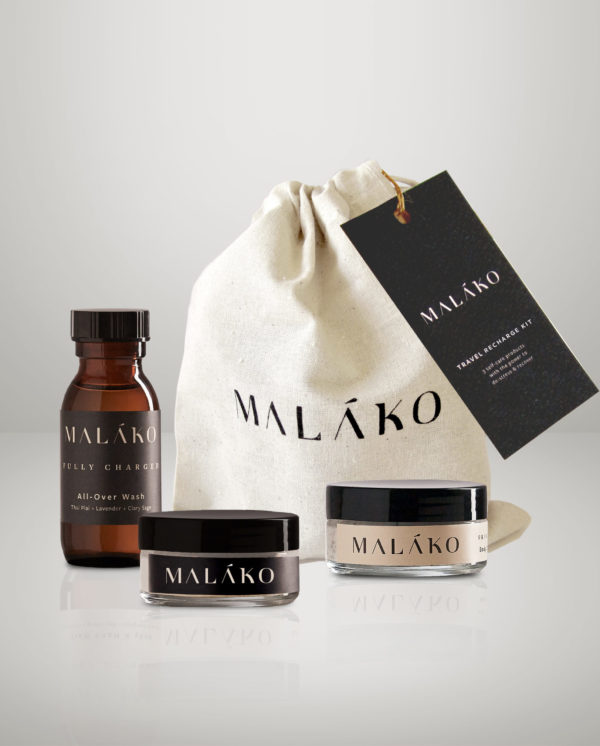 MALAKO Travel Recharge kit