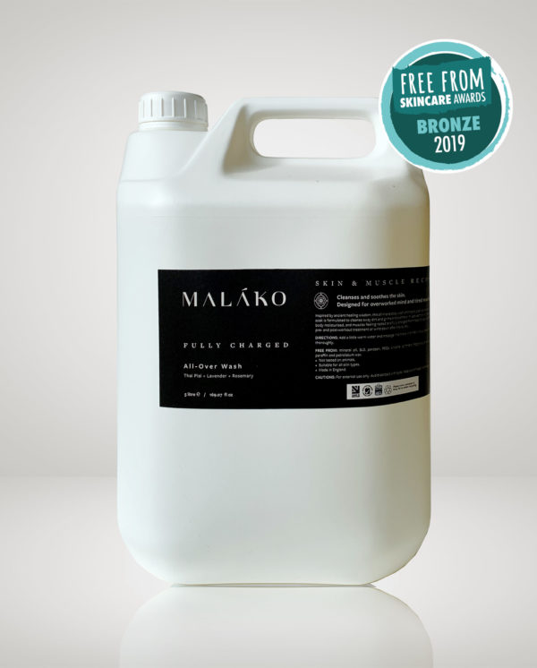 bulk refill 5L malako Fully Charged All-Over Wash